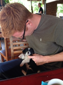 Will finds Lao pooch number two for cuddles and chin scratches